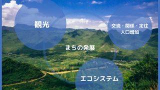 これからの本気のまちづくりを考える!観光と連携した人口増加とエコシステム戦略